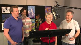 Zootopia Voice Recording Behind The Scenes Movie Broll  Shakira Jason Bateman