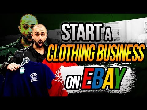 How To Start A Clothing Business On Ebay (A Complete, Step - By - Step Tutorial)