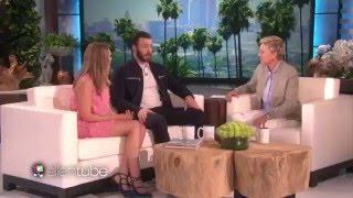 Chris Evans and Elizabeth Olsen's Scary Good Time (The Ellen Show)