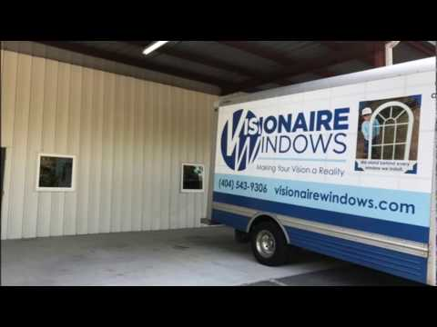 This was a custom project that we did at the request of one of our corporate customers. They wanted windows in a training room that did not have any light coming in. We were able to cut into the metal building and install windows to give them natural light in the room.