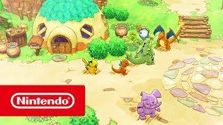 Nintendo  Pokémon Mundo misterioso: equipo de rescate DX - Tráiler del juego ( anuncio