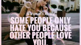 Attitude status for girls// women ability// best quotes