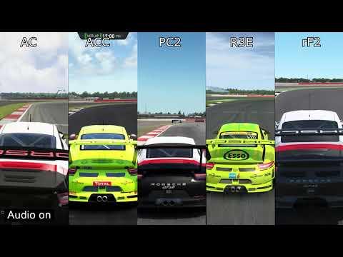 Download Assetto Corsa Vs Raceroom Vs Rfactor 2 Mclaren 650s Gt3 At