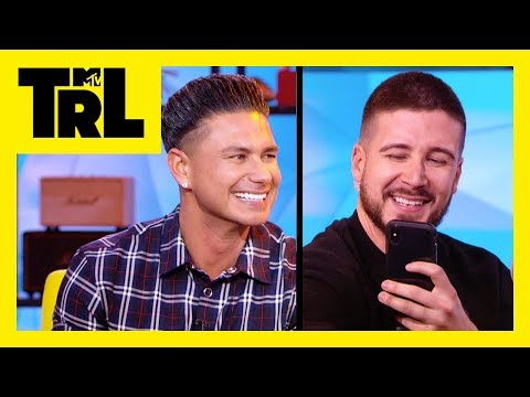 How Well Do Vinny and Pauly D Know Each Other? | Pop Quiz | TRL