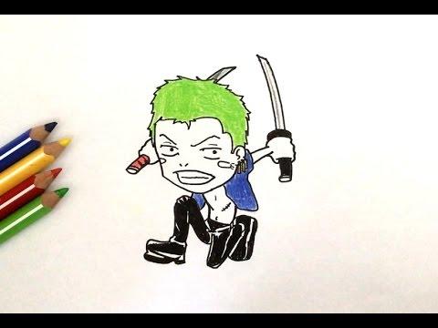 Dessin Zoro Chibi One Piece Smotret Onlajn Na Hah Life