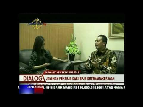 Dialog Eksklusif Bersama Kepala Kantor BPJS Ketenagakerjaan Semarang PemudaPepen S Almas, MM Tema J