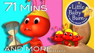 Download Video Ants Go Marching | Plus Lots More Nursery Rhymes | 71 Minutes Compilation From LittleBabyBum!