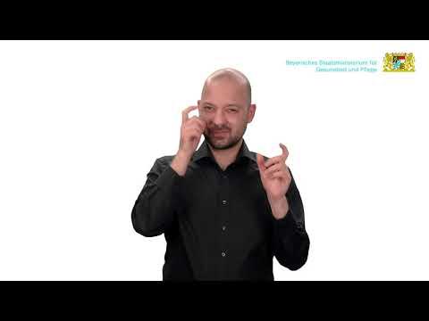 Häufige Fragen zum Mund-Nasen-Schutz – Teil 2 – in Deutscher Gebärdensprache