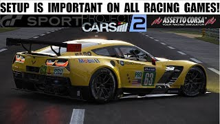 Racing games - The Importance of setup