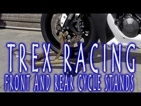 T-Rex Racing Motorcycle Stands and How To Use Them