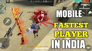 Free Fire | Fastest Mobile Player In India FreeFire Arpan Gaming