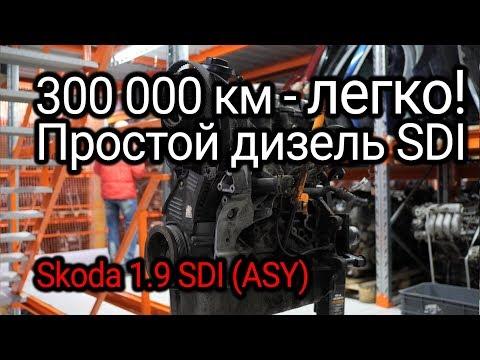 Фото к видео: Как двигатель 1.9 SDI пережил пробег в 300.000 км? Разбираем мотор со Skoda Fabia 2003 года.