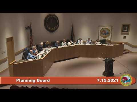 7.15.2021 Planning Board
