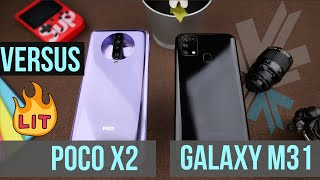 Samsung Galaxy M31 vs Xiaomi Poco X2 - Best Midrange Phone?