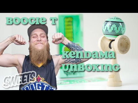 UNBOXING the Boogie T Signature Series Kendama - Sweets Kendamas