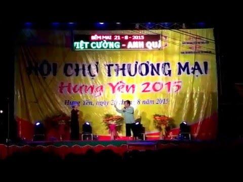 Hài Quang Tèo tại Hội chợ Hưng Yên
