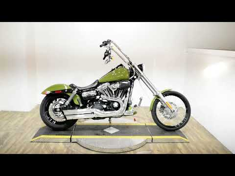 2011 Harley-Davidson FXDWG Dyna Wide Glide in Wauconda, Illinois - Video 1