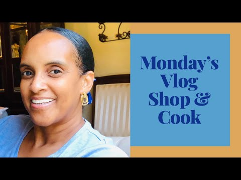 Monday's Vlog Shopping Cooking and Feeling Some Kind Of Way 🤦🏽♀️