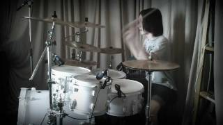 Serj - Chimaira - Dead Inside (drum cover)
