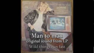 Joni Mitchell - man to man - original sound from LP 1982 - with lyrics