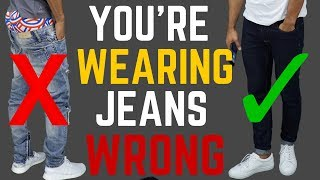 6 Ways You're Wearing Your Jeans WRONG | STOP Wearing Your Jeans Like This!