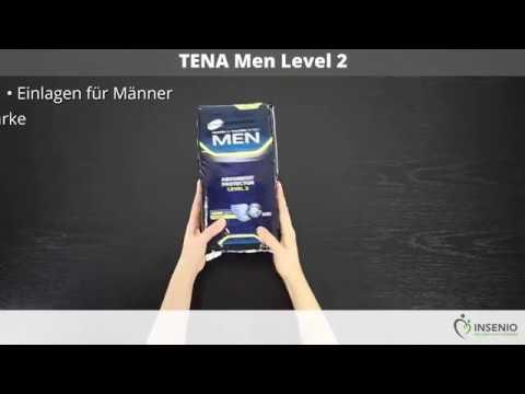 TENA Men Level 2 - ausgepackt!