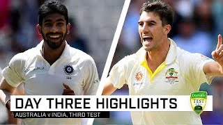 Bowlers dominate but India well on top | Third Domain Test