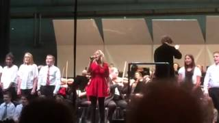 Alexa Green and the PSNJ perform Let it Go