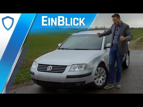 VW Passat Variant 1.9TDI B5/3BG 2002 - Ein echter Volkswagen! Vorstellung & Kaufberatung
