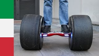 Hoverboard with Formula Tires?!?!