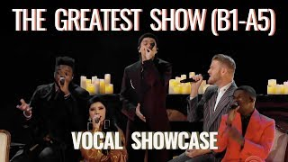 "Pentatonix - ""The Greatest Show"" Vocal Showcase B1-A5 (Studio)"