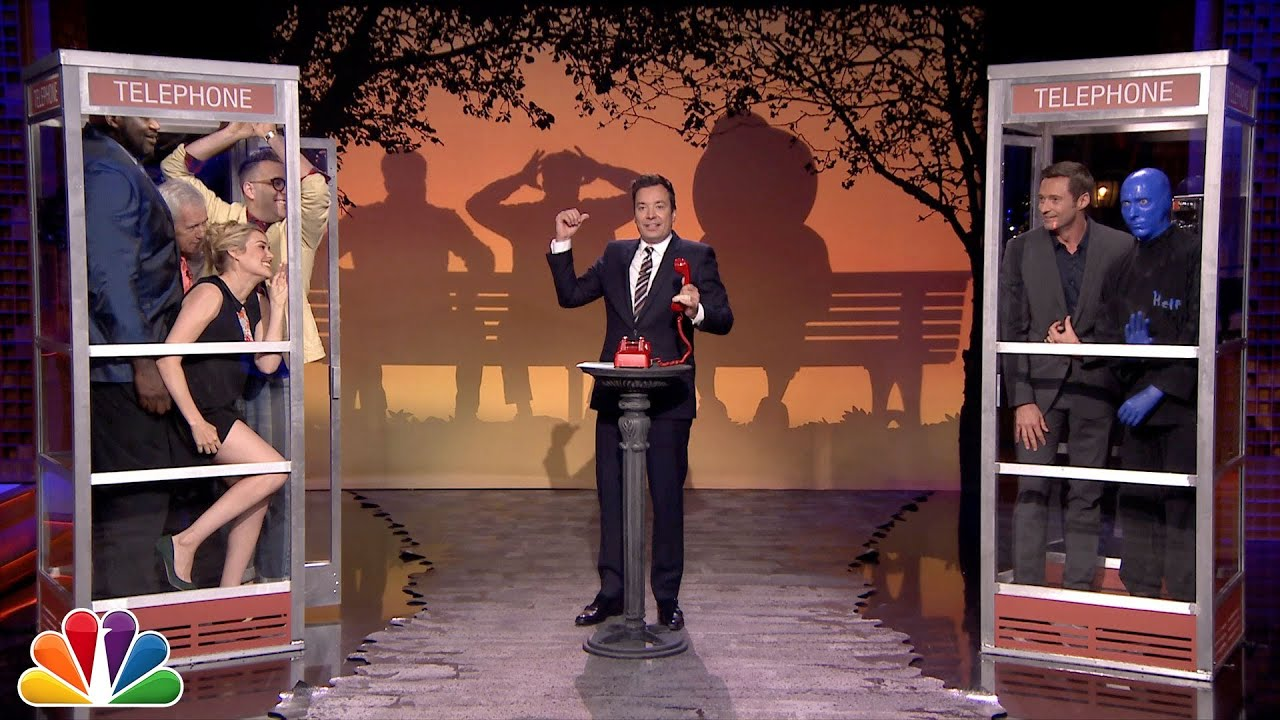 Phone Booth with Hugh Jackman and Shaquille O'Neal thumbnail