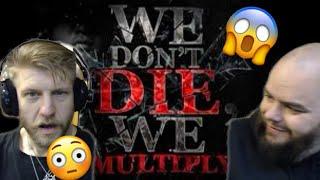 METALHEADS REACTION TO - PINOY RAP - 187 MOBSTAZ - WE DON'T DIE WE MULTIPLY