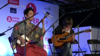 西洋楽器と日本伝統楽器のコラボレーション -Guitar and Shamisen-
