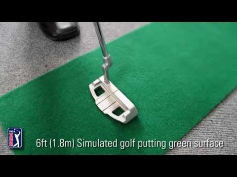PGA Tour 6ft Automatic Ball Return Putting Mat