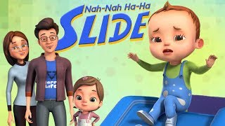 Nah Nah Ha Ha - Slide Song | Baby Ronnie Rhymes | Nursery Rhymes & Kids Songs | 3D Rhymes