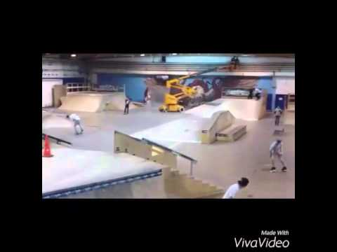 Wub skate park Austria travers