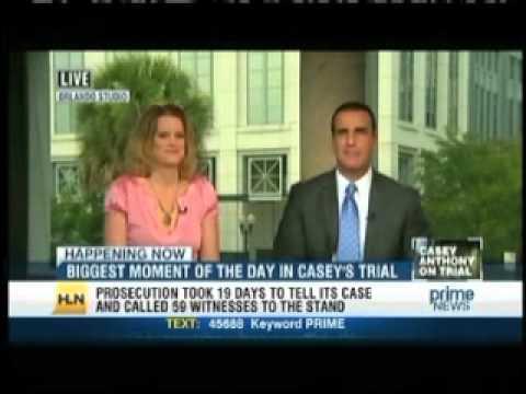 Meg Strickler on HLN Prime News with Vinnie Politan discussing Casey Anthony on June 15, 2011