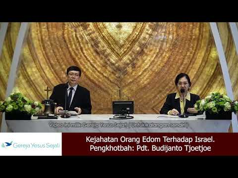 Kejahatan Orang Edom Terhadap Israel