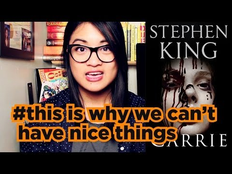Carrie by Stephen King | Book + Movie Review