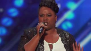 Moya Angela sings It's All Coming Back To Me Now   Week 6   America's Got Talent 2016 Full Auditions