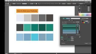 How to find pantone in illustrator cs6