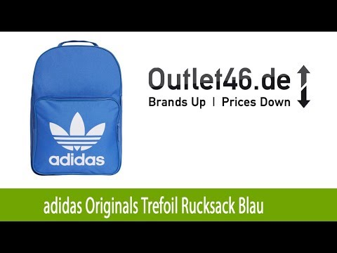 Modischer adidas Originals Trefoil Rucksack Blau günstig kaufen | Outlet46.de