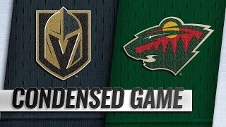 10/06/18 Condensed Game: Golden Knights @ Wild