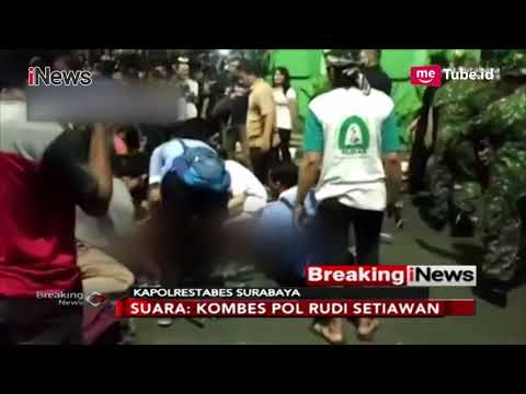 "Kapolrestabes Surabaya Jelaskan Kronlogis Insiden ""Surabaya Membara"" - Breaking iNews 09/11"