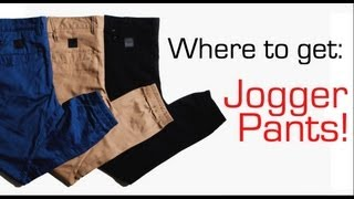 Where to get Jogger Pants! @WeAreTheTrend