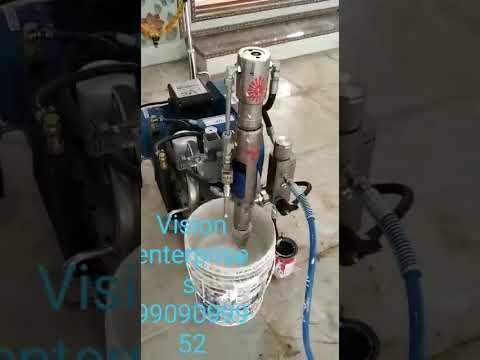 Vision Enterprises UB 5000 High Pressure Coating Machine