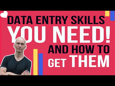 What are Data Entry Skills | Data Entry Courses Online | Data Entry Practice Test