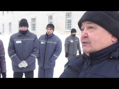 Условия содержания осужденных в колонии РУ 1703 г  Уральск  Казахстан 1 часть