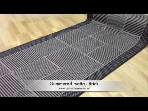 Mattor På Metervara : Brick tålig gångmatta på metervara nylanders mattor